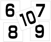6〜10セット 角ゴ