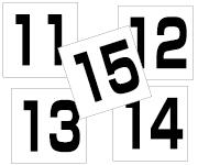11〜15セット  角ゴ