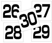 26〜30セット  角ゴ