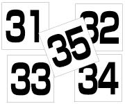 31〜35セット  角ゴ