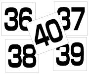 36〜40セット  角ゴ