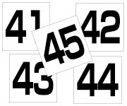 41〜45セット  角ゴ