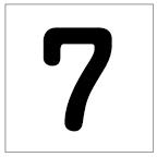 番号札<7> 丸ゴ