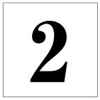 番号札<2> 明朝体