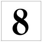 番号札<8> 明朝体